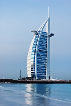 7 stjärniga Hotell Burj Al Arab Tower [Arab Sail] i Dubai
