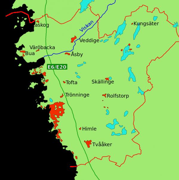 Karta Varberg